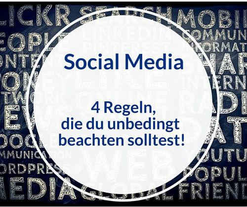 Bild Social Media Regeln
