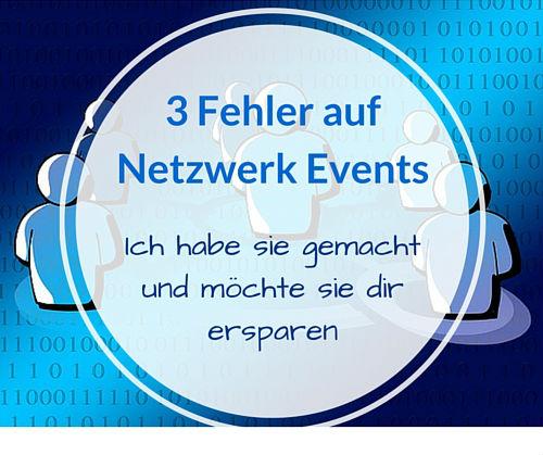 Netzwerken Fehler