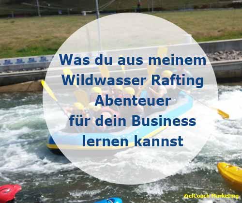 Rafting und Business