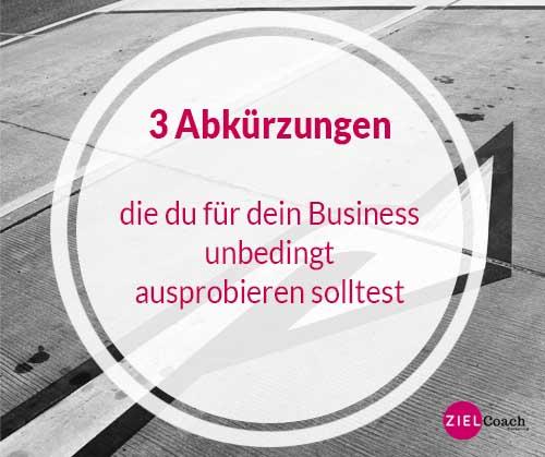 Abkürzung im Business