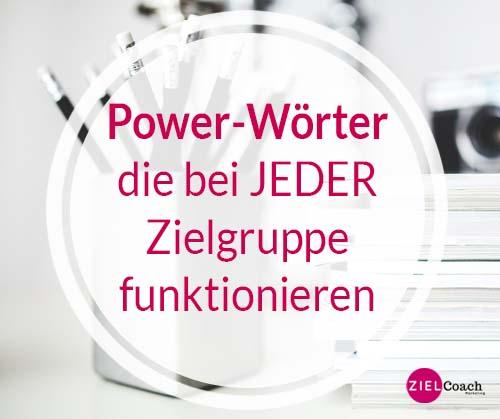 Zielgruppe: Powerwörter