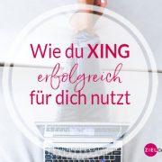 Positionierung auf XING
