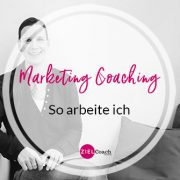 Marketing Coaching oder Beratung