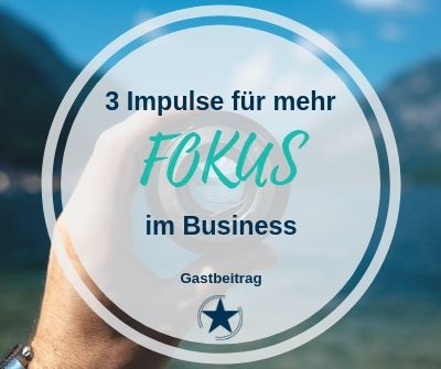 Fokus im Business