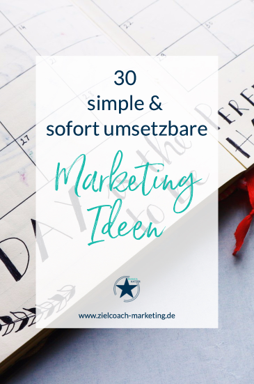 Marketingplan Ideen