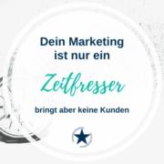 Zeitfresser Marketing